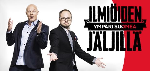 Ilmiöiden jäljillä - ympäri Suomea